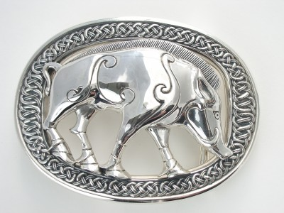 Pictish Boar Buckle