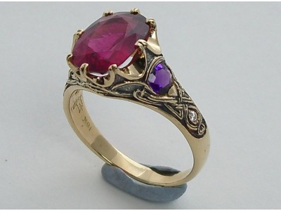 Celtic Crown Rare Rubellite 2