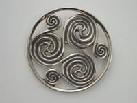 Pictish Triskle Brooch