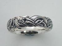 Cuchulain Knotwork Band Narrow