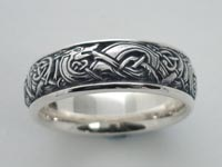 Cuchulain Knotwork Band Wide