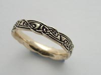Flora Knotwork Band Narrow