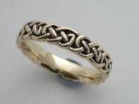 Heather Root Knotwork Band Narrow
