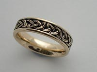 Kells Knotwork Band Narrow