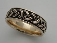 Kells Knotwork Band Wide