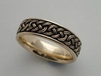 Lovers Path Knotwork Band Wide