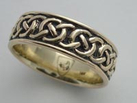 Ringill Knotwork Band Wide