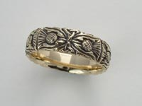 Thistle Knotwork Band Narrow