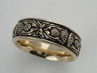 Thistle Knotwork Band Wide