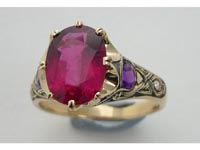 Celtic Crown Rare Rubellite